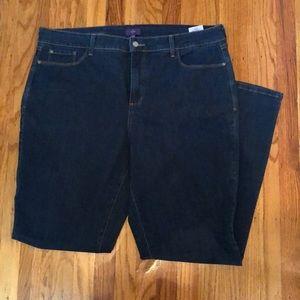 NYDJ Barbara bootcut jean.  Size 18w.